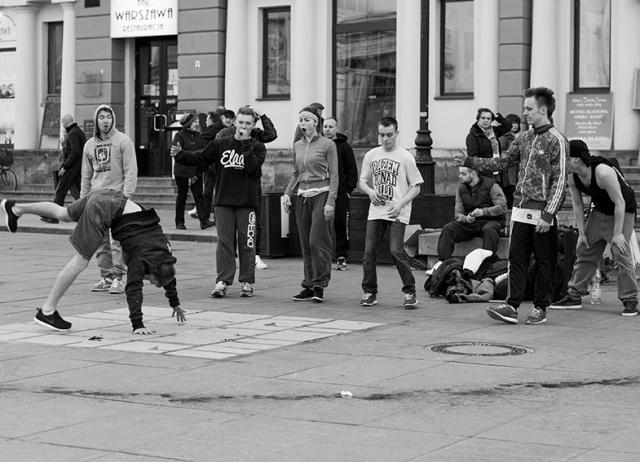 17hip hop en las calles